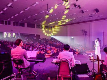 KKU holds the 3rd 'Dang Sang Thong Nai Duang Jai' Concert featuring 7 artists
