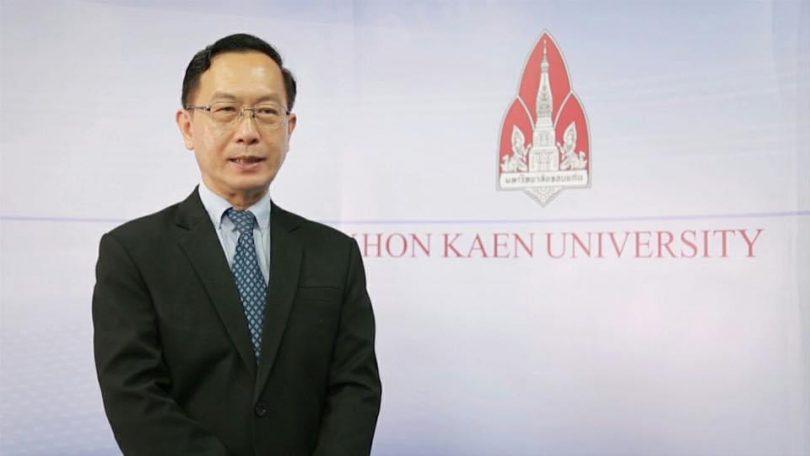 Assoc. Prof. Charnchai Panthongviriyakul, Acting President of Khon Kaen University